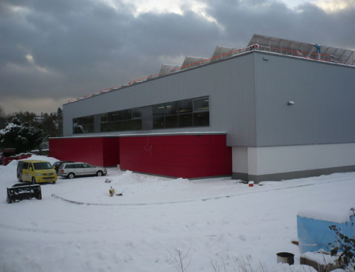 Sporthalle Iserlohn 22.000 m³